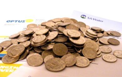 Coins bills